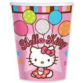 Стаканы Hello Kitty, 8шт