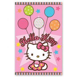 Скатерть п/э Hello Kitty, 1,4х2,6м