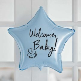 "Шар-звезда ""Welcome baby"""